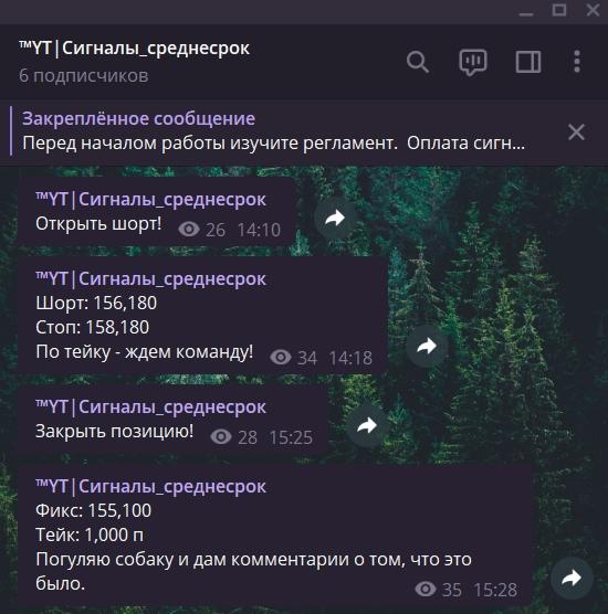 Сделка №13. Фьючерс РТС.